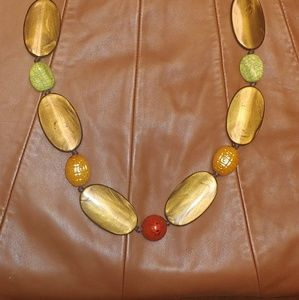 19 1/2 inch Fall necklace